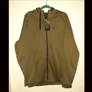 Mens Nike THERMA Dri-Fit zip up hoodie